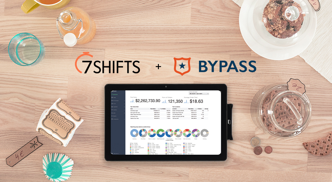 Bypass POS Partners with 7shifts to Increase Flexibility and Controls in Restaurant Management