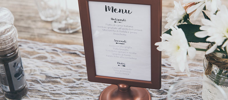 6 Restaurant Menu Ideas And 3 Design Trends To Grow Your