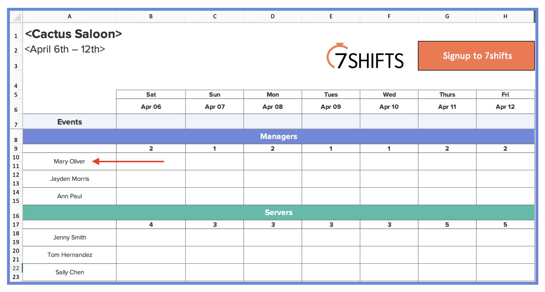 3-restaurant-scheduling-excel-template