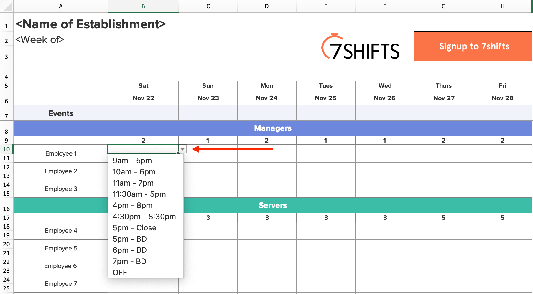 4-work-schedule-shift-creation-excel-template-how-to