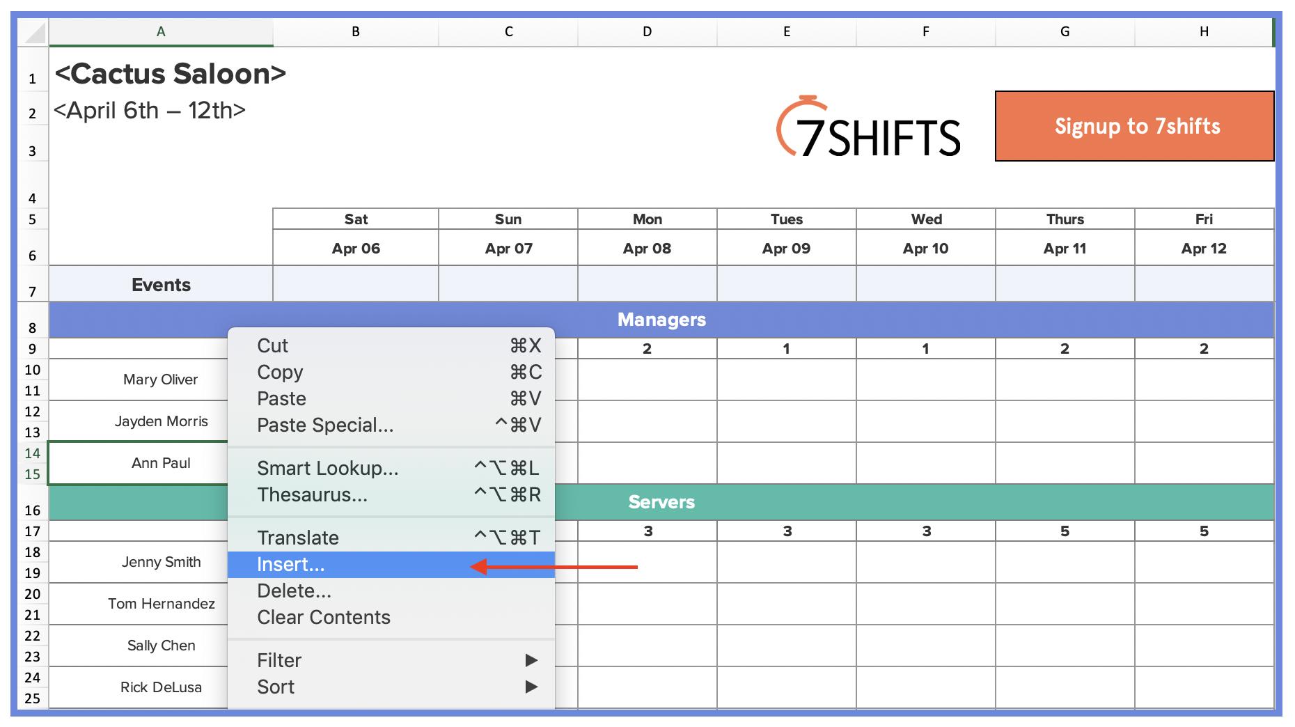 6-restaurant-scheduling-excel-template