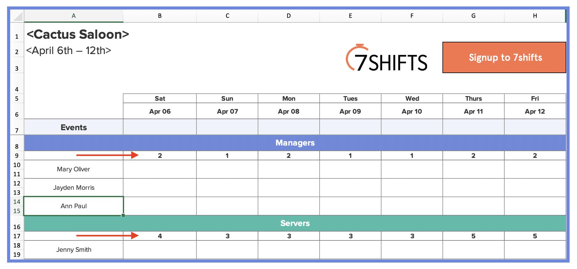 8-restaurant-scheduling-excel-template