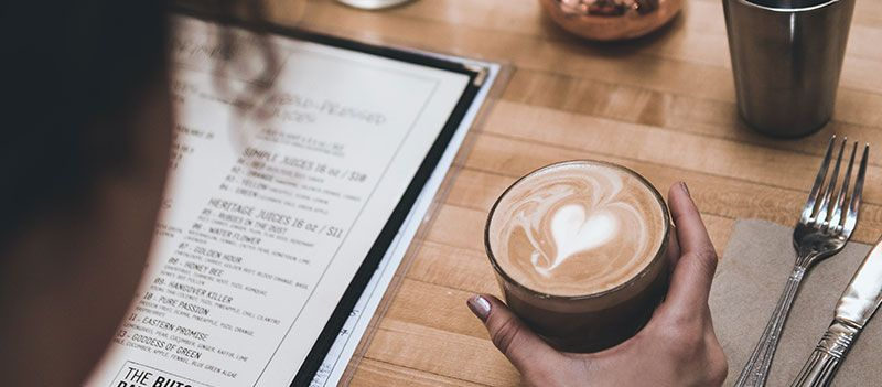 how to start a restaurant menu and coffee