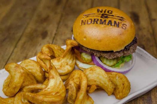 nick-and-normans-restaurant-burger