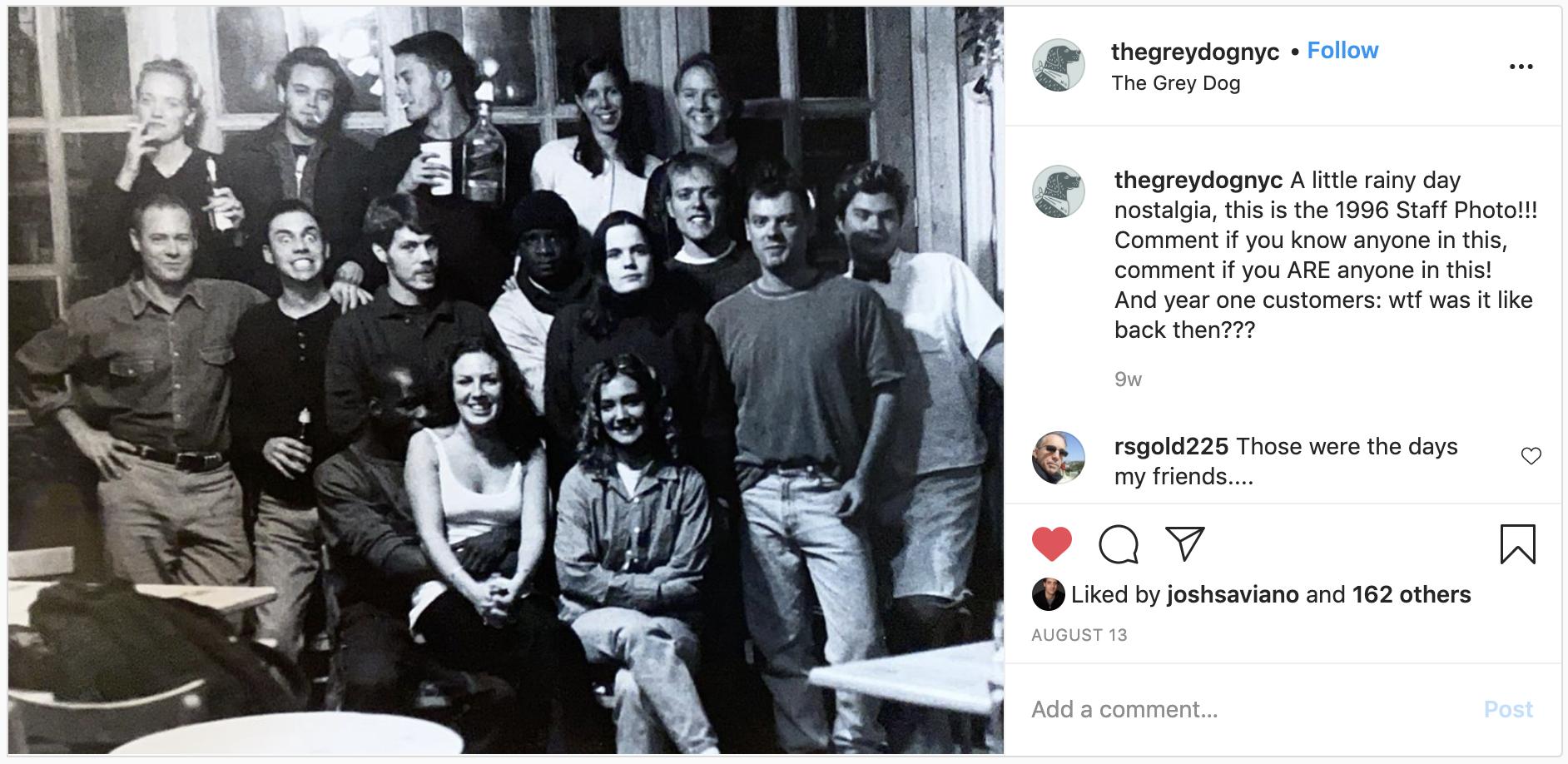 thegreydog restaurant staff photo