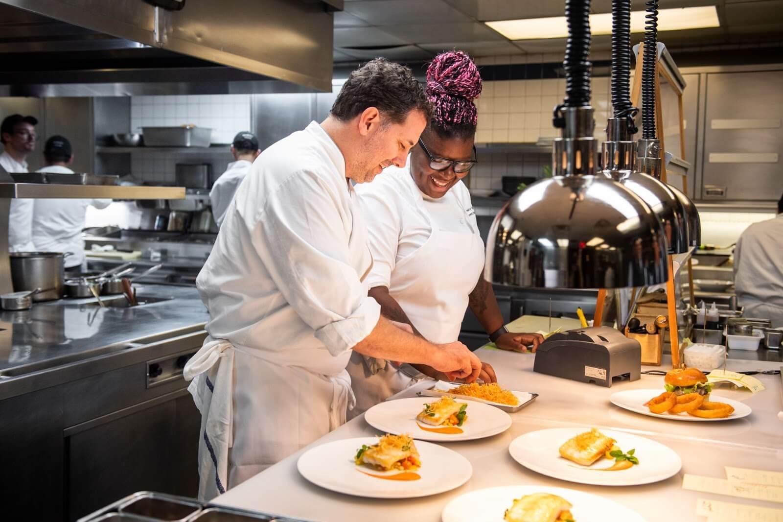 Work ethic in a restaurant team
